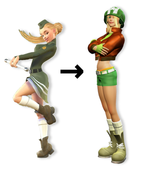 What's that orange bit above her shorts? Her underwear? C'mon guys, this is a Nintendo game...